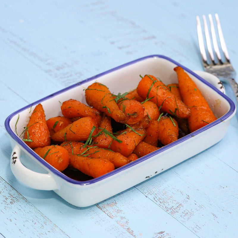 Honey And 5 Spice Roasted Chantenay Carrots