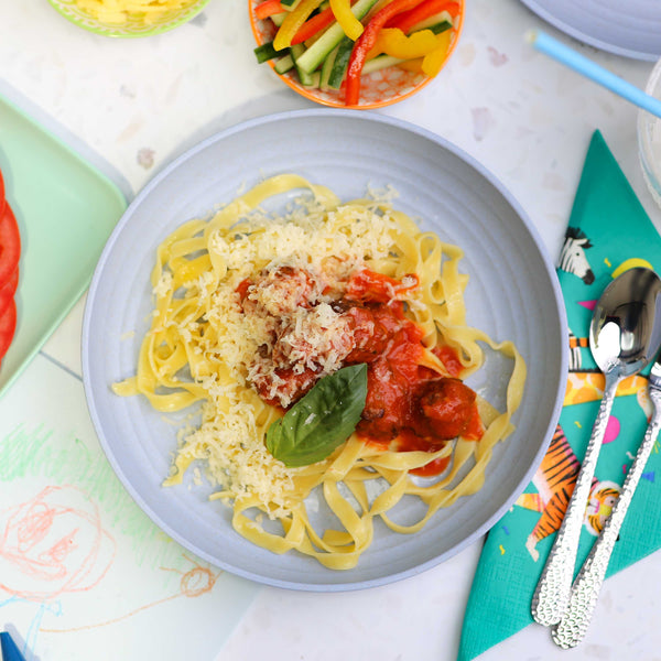 Kids' Meatballs and Pasta
