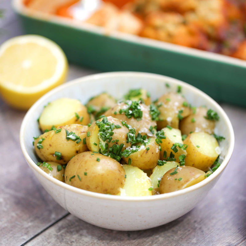Baby New Potatoes In Herbs and Butter