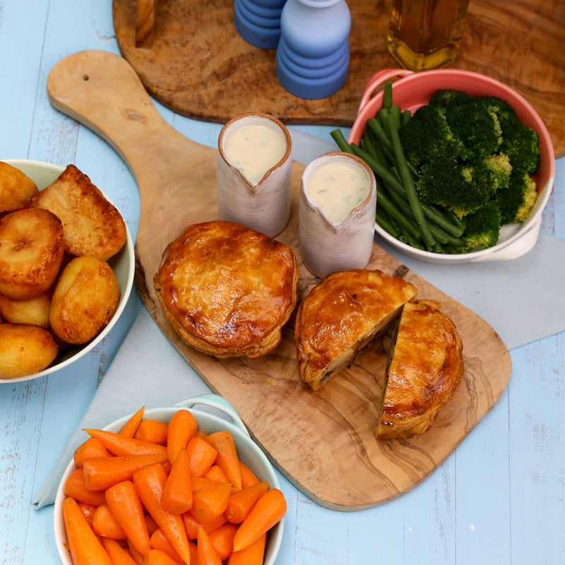 Celeriac and Artichoke Pie Roast Dinner Package