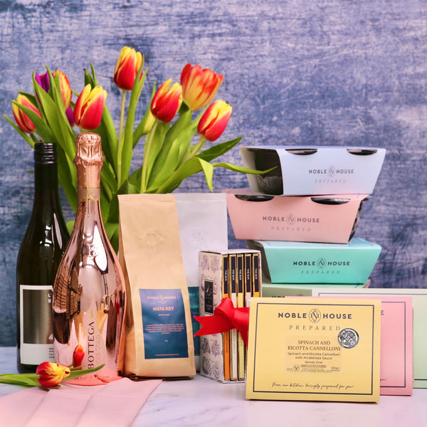 Mother's Day: Luxury Vegetarian 4-Meal Box for One