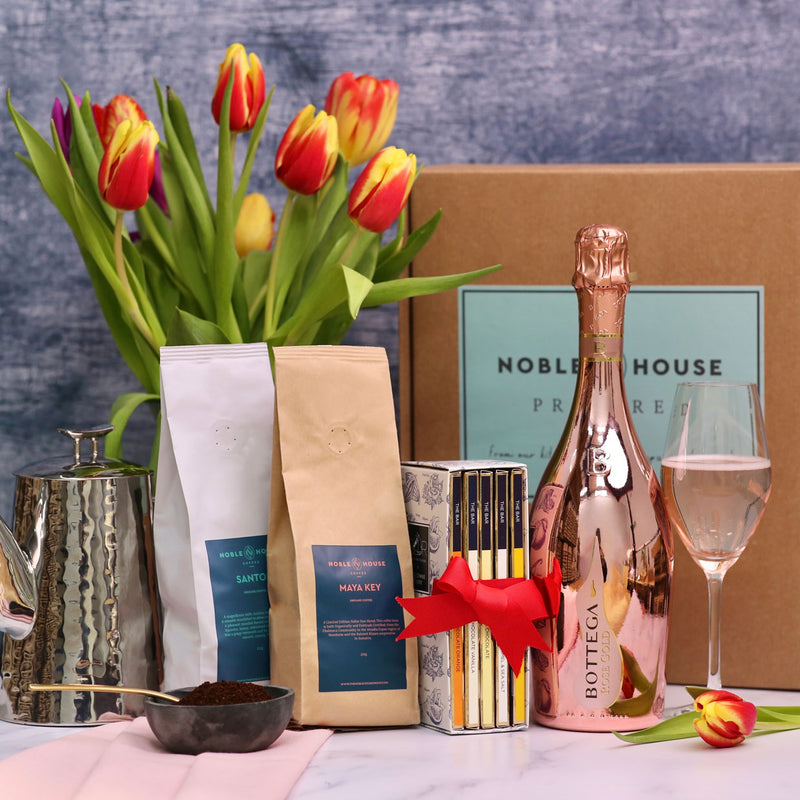 Gift Box: Coffee, Chocolate and Rosé Prosecco