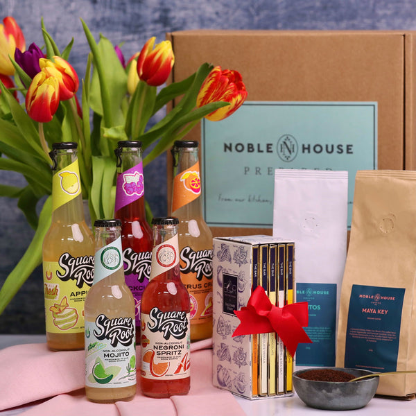 Mother's Day: Gift Box with Sparkling Soft Drinks