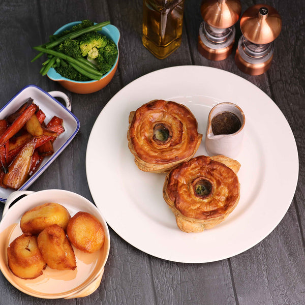 Mushroom Pie Roast Dinner Package
