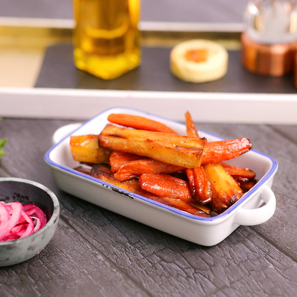 Maple Syrup Roast Parsnips and Carrots