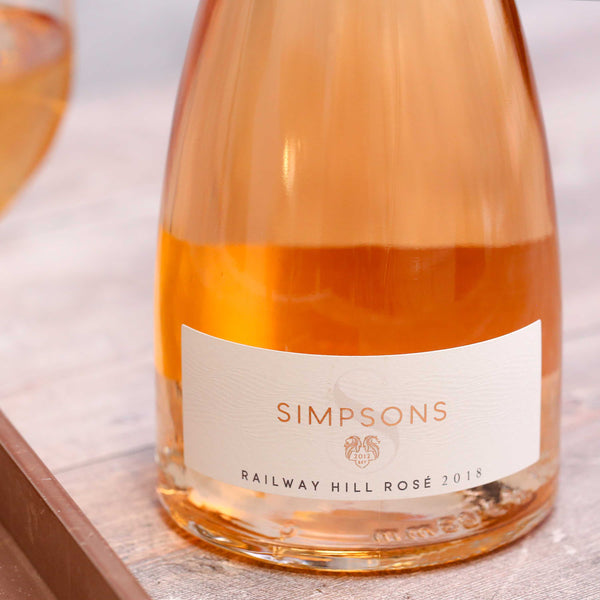 Railway Hill Rosé, Simpsons Wine Estate, Kent, England 2018