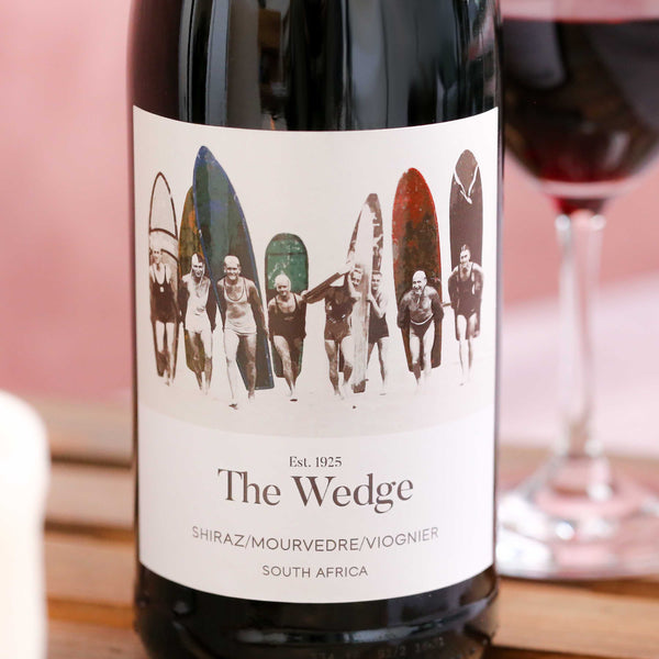Shiraz Mourvedre Viognier 'The Wedge', Swartland, South Africa 2018