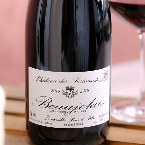 Beaujolais Ch. Pertonnieres Dupeuble, Beaujolais, France 2019