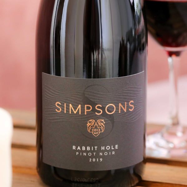 Rabbit Hole Pinot Noir, Simpsons Wine Estate, Kent, England 2019