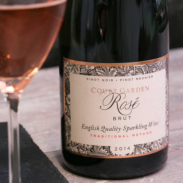Court Garden Brut Rosé, Sussex, England 2014