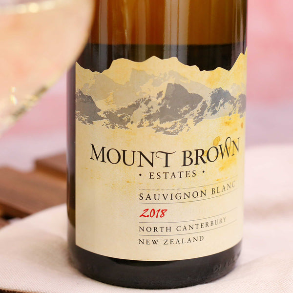 Mount Brown Sauvignon Blanc, Waipara Valley, New Zealand 2018