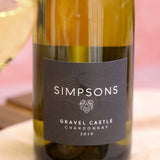 Gravel Castle Chardonnay, Simpsons Wine Estate, Kent, England 2019