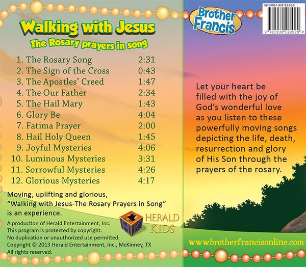 Walking with Jesus - the Rosary Prayers in Song