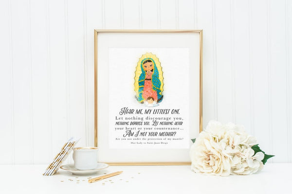 Poster Print - Our Lady of Guadalupe