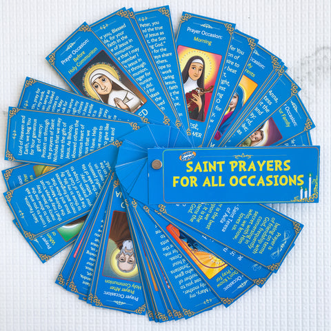 Brother Francis Devotional Fan - Saint Prayers for All Occasions