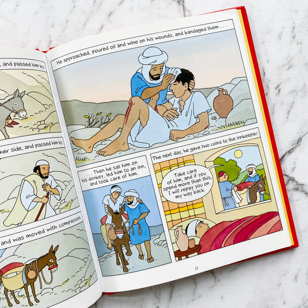 The Illustrated Parables of Jesus
