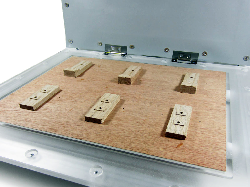 Heatsink board customization - vacuum forming tips