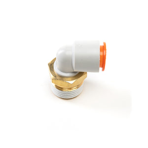 Easy Connect 1/2 inch NPT Male Elbow - Thermoforming Press