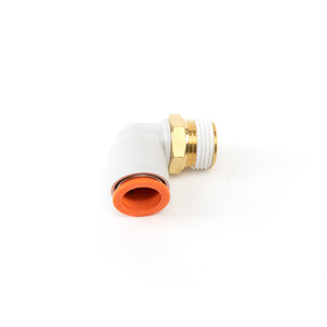 HD Industrial Design Easy Connect 3/8 inch NPT Male Elbow