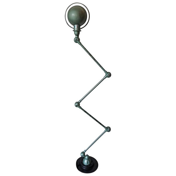Four-Armed Industrial Vespa Lamp by Jean-Louis Domecq for Jieldé