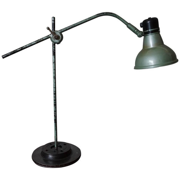 Industrial Desk Lamp by ERPE, 1950s