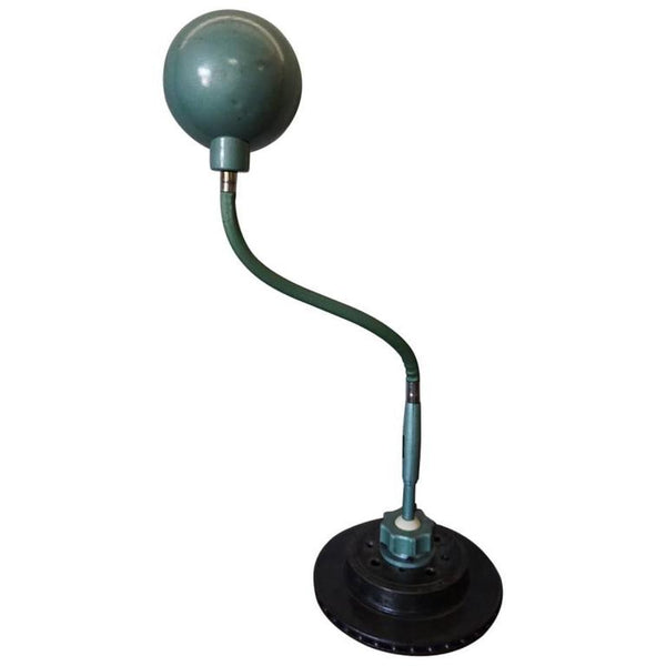 Green Industrial Flexible Desk Lamp from Lampe Adher