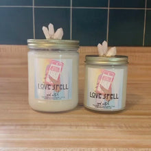 Load and play video in Gallery viewer, LOVE SPELL Crystal Candle | Amplifies Romance | Cherry Blossom & Peach