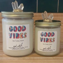 Load and play video in Gallery viewer, GOOD VIBES Luxe Candle | Relax & Unwind | Rose, Amber, & Patchouli