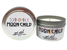 Load image into Gallery viewer, MOON CHILD | 3 oz. Travel Candle