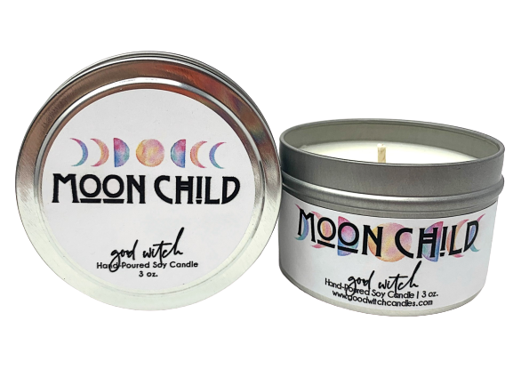 MOON CHILD | 3 oz. Travel Candle