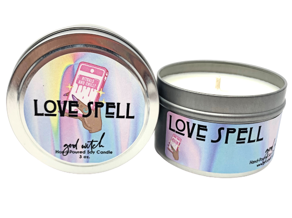 LOVE SPELL | 3 oz. Travel Candle