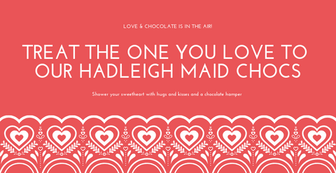 Valentines Chocolates from Hadleigh Maid