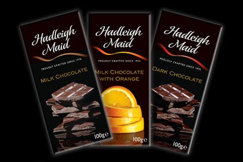Chocolate Bars (100g) Milk, Dark Chocolate and Milk Chocolate and Orange