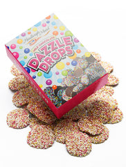 Milk Chocolate Rainbow Dazzle Drops Boxed (150g)