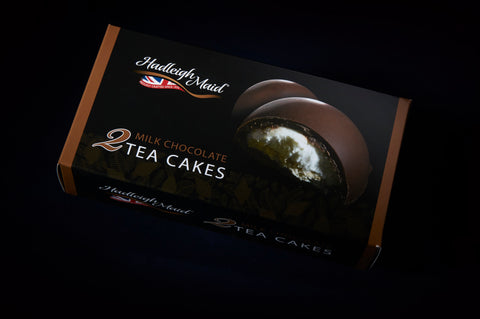 Chocolate Tea Cakes - Large Milk Chocolate - Twin Pack (138g)