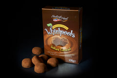 NEW VEGAN FRIENDLY Dark Chocolate Salted Caramel Truffle Whirlpools - (108g)