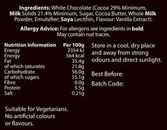 Chocolate Buttons for Baking (350g) - Milk, Dark and White