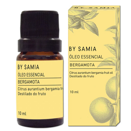 Óleo Essencial de Bergamota - By Samia - 10ml