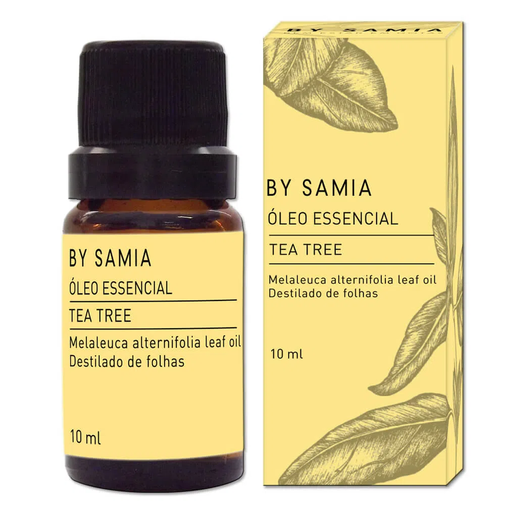 Óleo Essencial Melaleuca (Tea Tree) - By Samia - 10ml