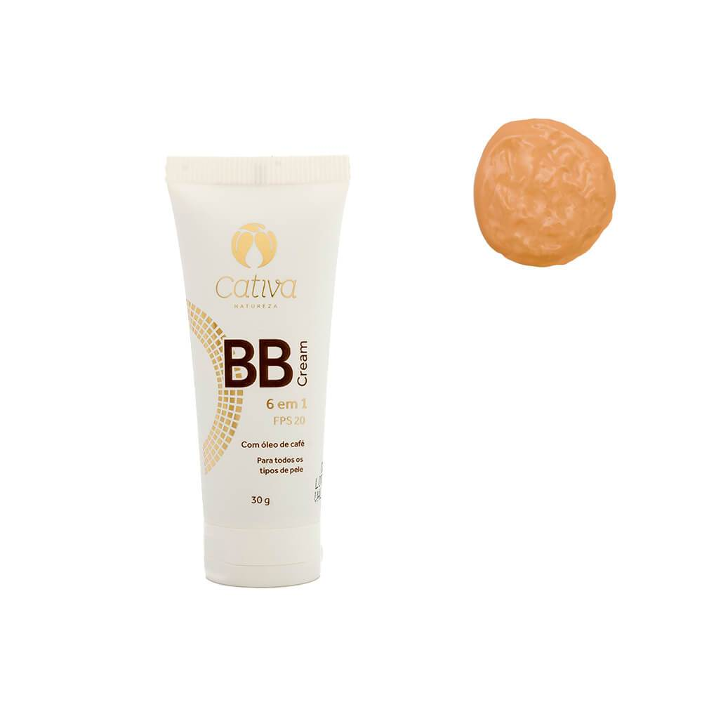 Bb Cream Fps 20 - 30 g - Cativa Natureza