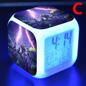 LED luminous alarm clock, 7 colors change (Buy 2 free shipping!)