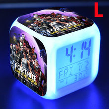 Load image into Gallery viewer, LED luminous alarm clock, 7 colors change (Buy 2 free shipping!)