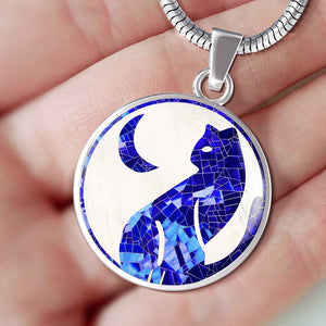 """The Cat and The Moon"" Luxury Necklace"