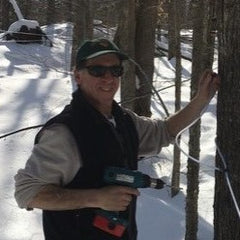 dave-sunnybrook-farm-tapping-maple-tree