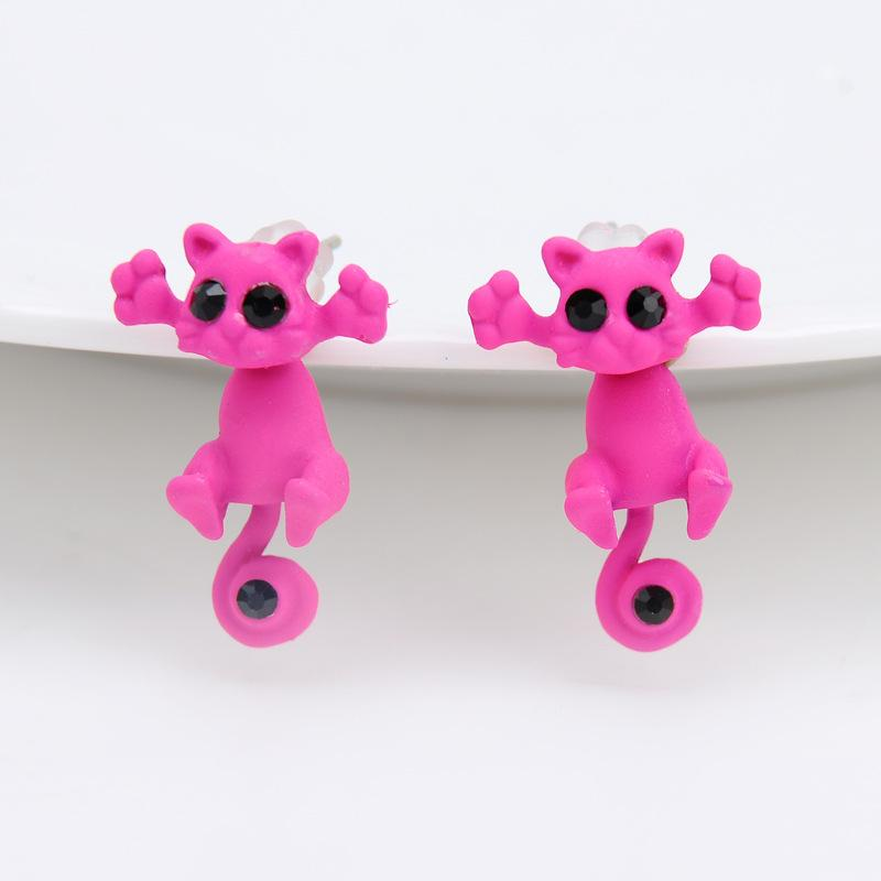 Trap Cat Stud Earrings - TEROF