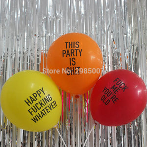 Funny Whatever Balloons - TEROF