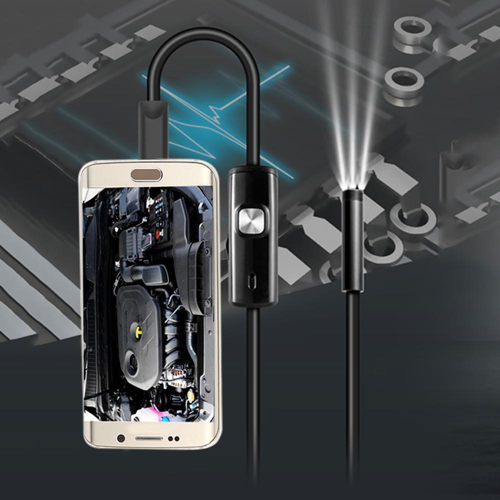 3.5m FS - AN02 Android Endoscope IP67 Waterproof with Inspection Snake Tube Camera - Surveillance Cameras - Gaghy.com