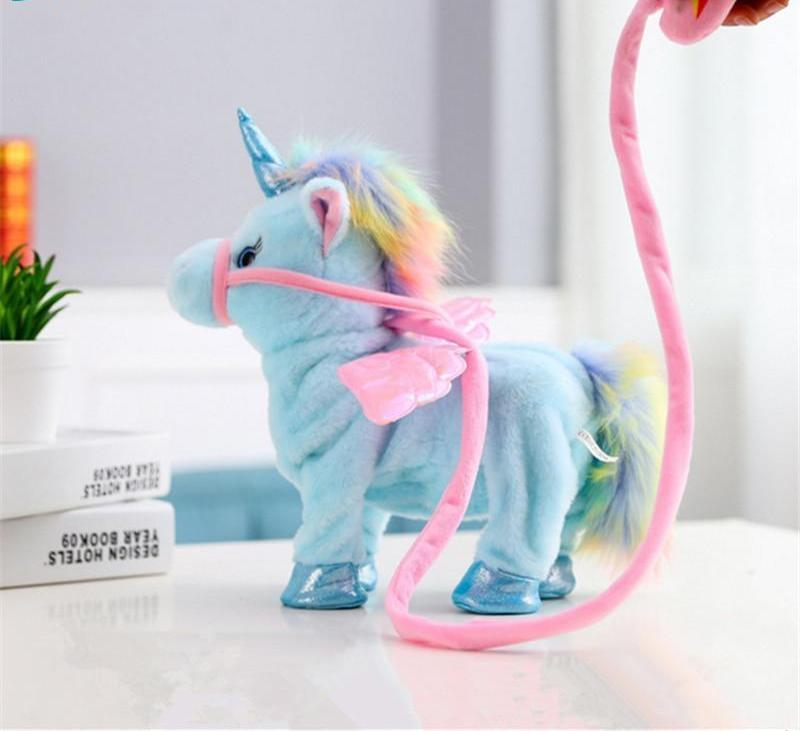 Walking Unicorn Plush Toy - TEROF