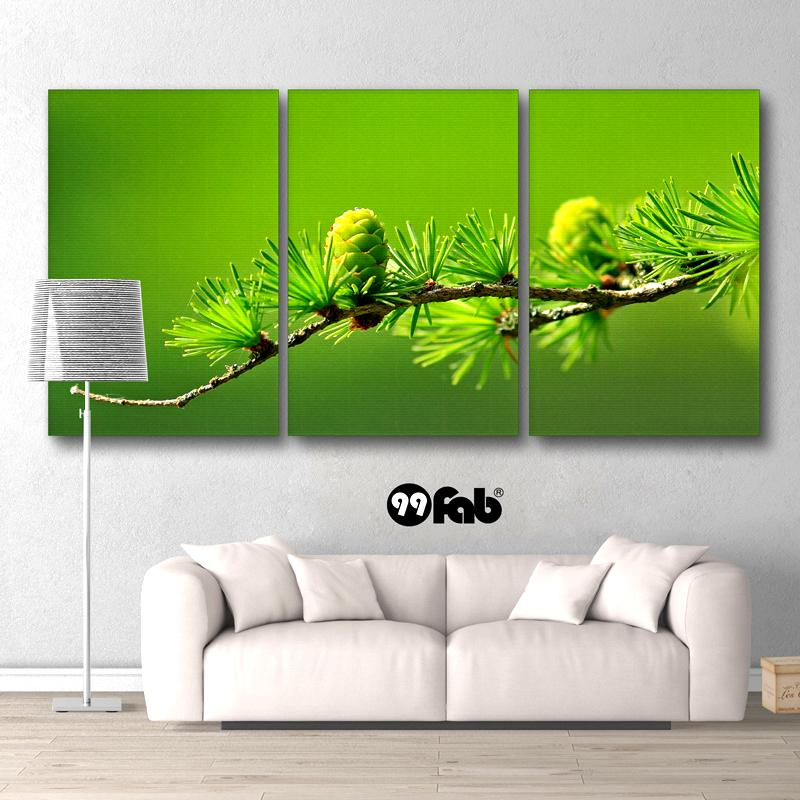 3 Panel Dream Come True Green Wall Art Canvas - wall art - Gaghy.com