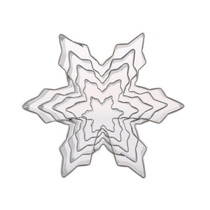 Snowflake Stainless Steel Cookie Cutters Set - TEROF